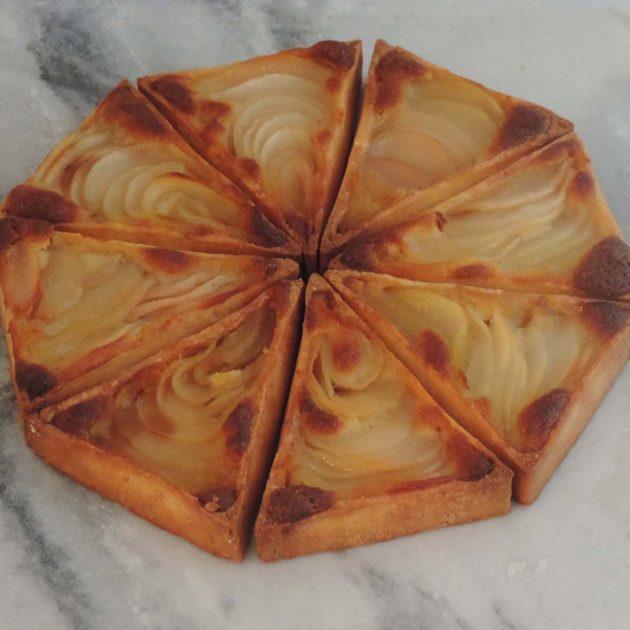 Grande tarte bourdaloue